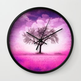 art tree Wall Clock