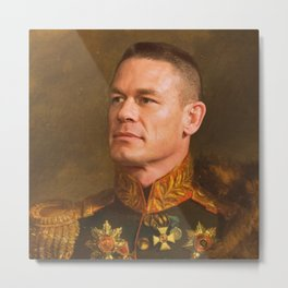 John Cena - replace face Metal Print