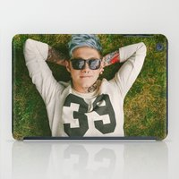 niall horan iPad Cases featuring Niall Horan Punk Edit by Vinny's Edits