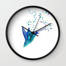 Neptune's Ray Wall Clock