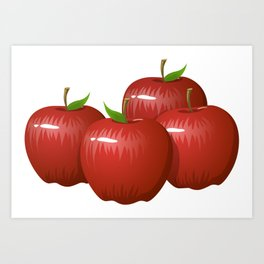 Apple Delight Kitchen Picture Art Print