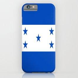flag honduras,america,latine,spanish,Honduran, Catracho,Mesoamerican,Tegucigalpa,San Pedro,Choloma iPhone Case
