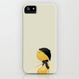 Museum Sitting Monster iPhone Case