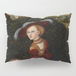 "Lucas Cranach the Elder ""Phyllis and Aristotle"" Pillow Sham"