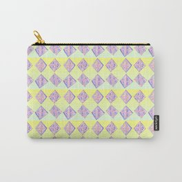 square abstraction-mutlicolor,abstraction,abstract,fun,rectangle,square,rectangled,geometric,geometr Carry-All Pouch