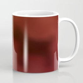 Sundown, mist, and dog's shadows ... Coffee Mug