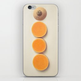 Squash Slices iPhone Skin