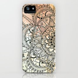 Butterfly Mandala iPhone Case