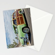 Woodie on the Beach Stationery Cards