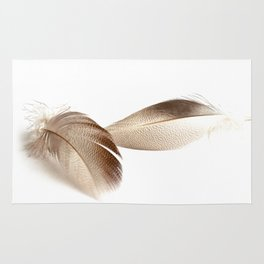 Mallard Feathers 2 Rug