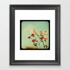 ttv Japanese Anemones  Framed Art Print
