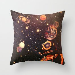 Space Boots. Throw Pillow