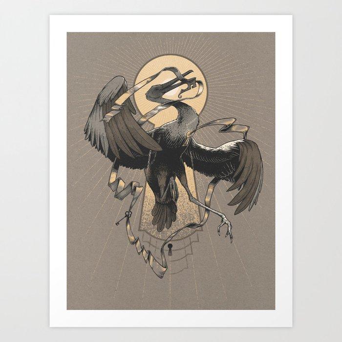 Flight of the Keybirds Art Print