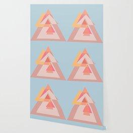 Geometric shapes dancing Wallpaper