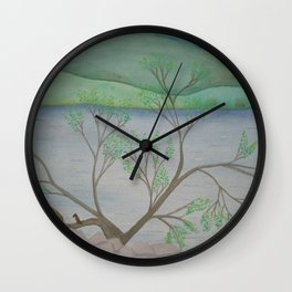 Banks of the Canal Wall Clock