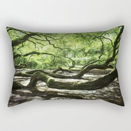 The wings of a mighty angel. Rectangular Pillow