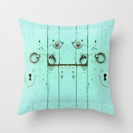 The door A Throw Pillow