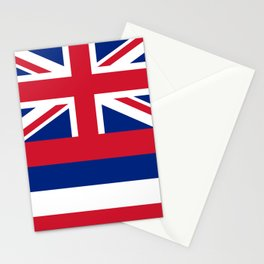 State flag of Hawaii Stationery Cards