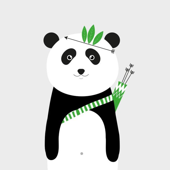 Be brave - panda Comforters