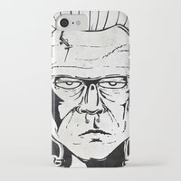 frankenstein iPhone & iPod Cases featuring Frankenstein by Diseños Fofo
