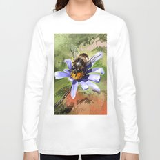 Bee on flower 18 Long Sleeve T-shirt