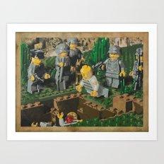 The Death of 90064 Art Print