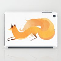 kitsune iPad Cases featuring Kitsune by Amy S.