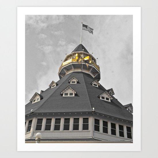 Coronado Tower Art Print