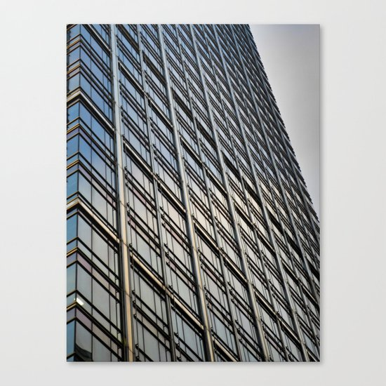 Skyscraper Abstract Canvas Print