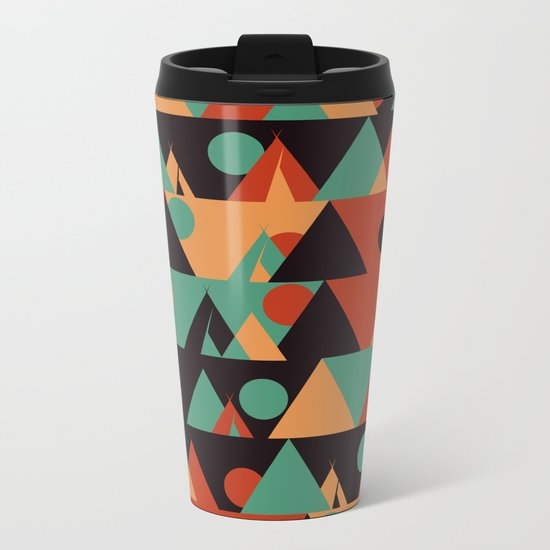 The sun phase Metal Travel Mug