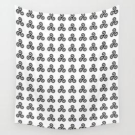 Triskele 1 -triskelion,triquètre,triscèle,spiral,celtic,Trisquelión,rotational Wall Tapestry