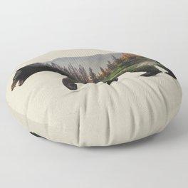 The North American Black Bear Floor Pillow