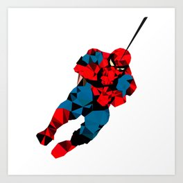 Spiderdude Art Print