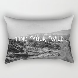 FIND YOUR WILD II Rectangular Pillow