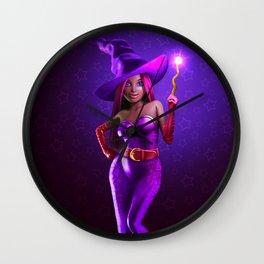Happy Halloween 2 Wall Clock