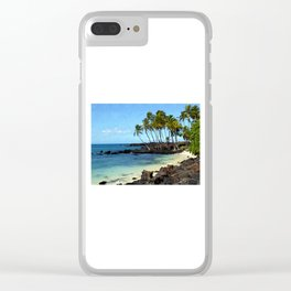 Kekaha Kai II Clear iPhone Case