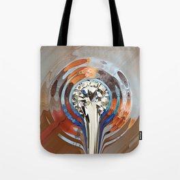 Flüssiger Diamant Tote Bag