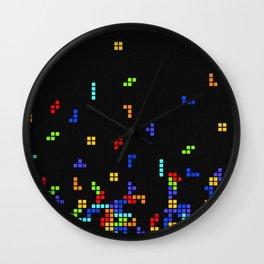 Tetris Time Wall Clock