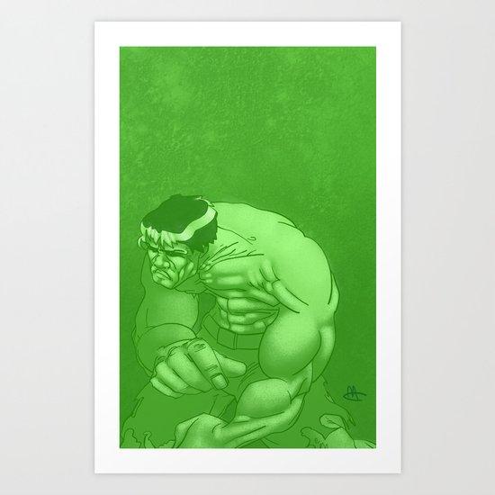 He's Incredible! Art Print