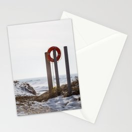 Lake Michigan is safe Stationery Cards