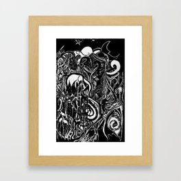Time and The Reaper Framed Art Print