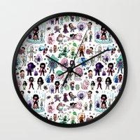 steven universe Wall Clocks featuring Cute Steven Universe Doodle by KiraKiraDoodles