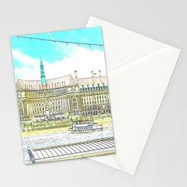London River Scene 2 Stationery Cards