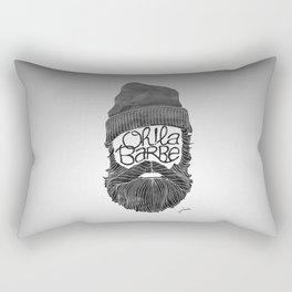 Oh! La barbe Rectangular Pillow