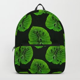 Tropical Frog On A Leaf Backpack