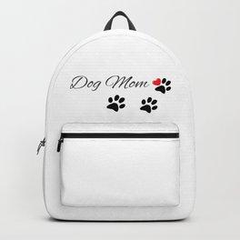 Dog Mom  Backpack
