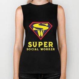 Social Workers - Social Worker Gifts Funny Biker Tank