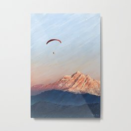 Flying in Dreams Metal Print