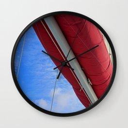 A Cayman Sail III Wall Clock