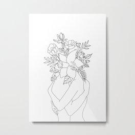 Blossom Hug Metal Print